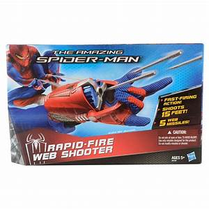 The Amazing Spiderman Rapid Fire Web Shooter New