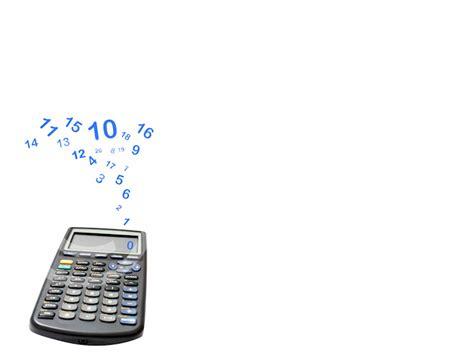 calculator system backgrounds presnetation