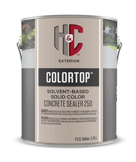 solid color stains sealers hc concrete