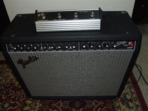 Fender Stage 100 Dsp 100watt Guitar Amp. Very Nice!