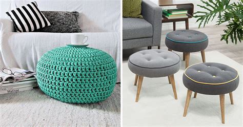 Whats  Difference   Pouf   Ottoman