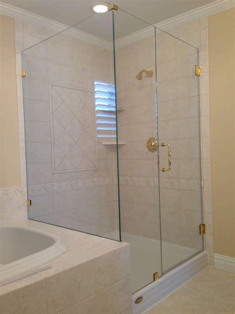 showerman frameless shower enclosure layout   classic