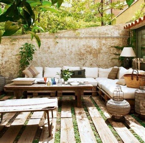 petite terrasse amenagee maillerayefr jardin
