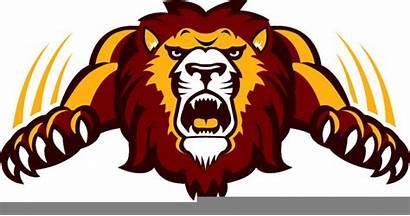 Lion Mascot Team Clipart Decal Spirit Clip