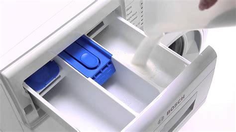bosch washing machine  cleaning detergent drawer