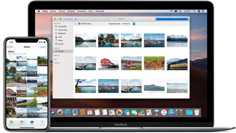 prenos fotek  videi  iphonu ipadu nebo ipodu touch