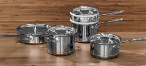 copper core stainless steel cookware  effortless