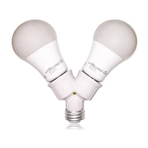 maxxima light bulb socket splitter for led cfl and