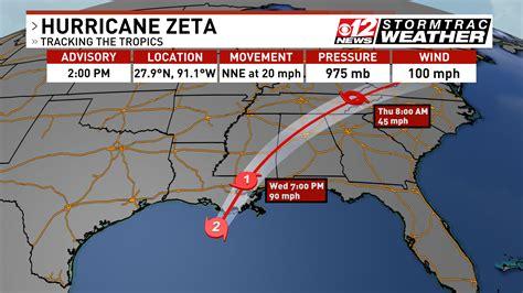 Hurricane Zeta makes landfall in Louisiana   WTVX