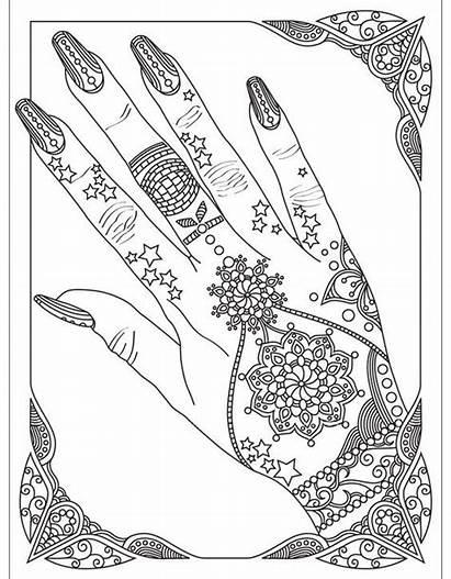 Coloring Pages Colouring Adults Nails App Mandala