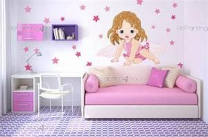 Wandtattoo Baby Mädchen : wandtattoo m dchen feen vdi1172de ~ Markanthonyermac.com Haus und Dekorationen