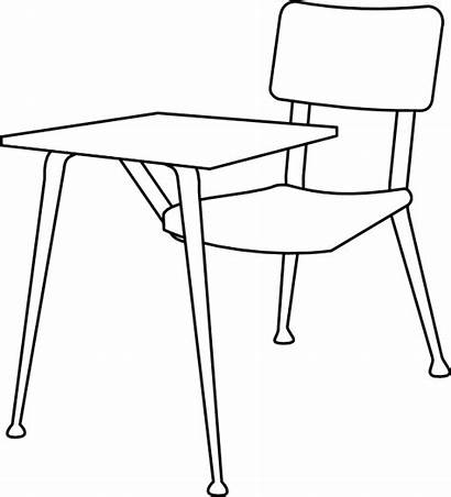 Chair Clipart Clip Furniture Table Cliparts Chairs