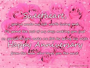 Top Happy Wedding Anniversary To Wife Images - quoteambition