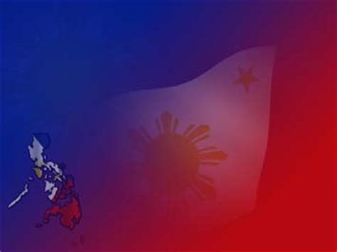 philippines map  powerpoint template