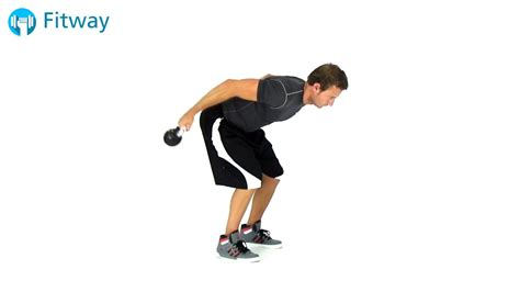 kettlebell triceps kickback underhand workout exercise grip arm