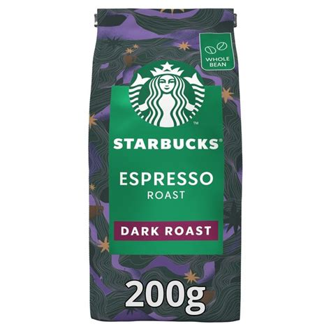 Get whole bean coffee from target to save money and time. STARBUCKS Espresso Roast, Dark Roast Coffee Beans   Ocado