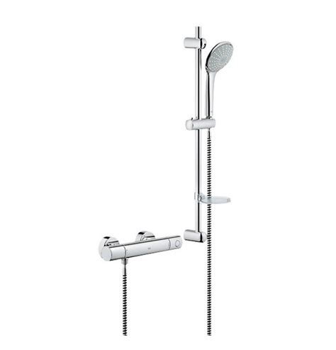 Adjusting Grohe Thermostatic Shower Valve by Grohe Grohtherm 1000 Cosmopolitan Thermostatic Shower