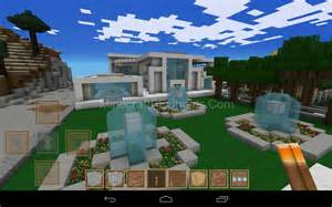 Minecraft PE Modern House Ideas