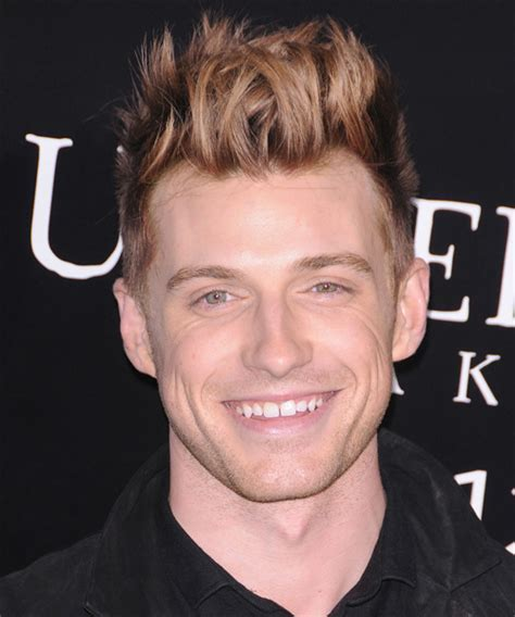 Jeremiah Brent Short Straight Alternative Hairstyle