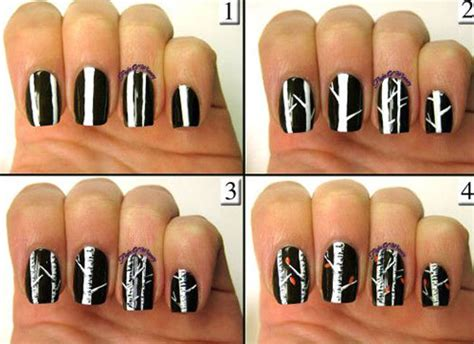 Nail Art Tutorial : Easy, Simple & Step By Step Fall Nail Art Tutorials For