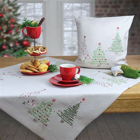 sander tischwäsche weihnachten weihnachten tischdecke und weihnachtskissen bestellen www sander tischwaesche de index