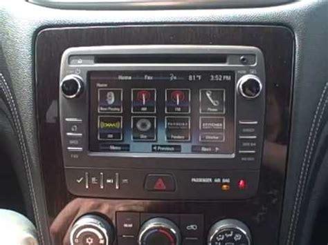 program  mylink radio   chevy traverse
