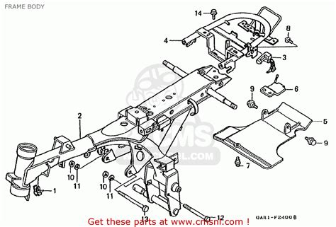 honda z50jp monkey baja japan frame body parts list