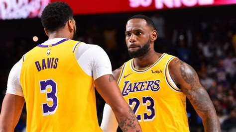 lebron james posts triple double  lakers ot win