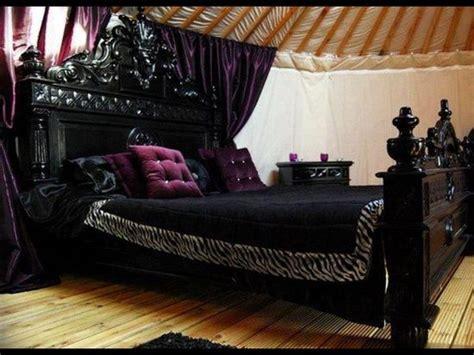 bedroom ideas purple and black purple black bedroom if it were my home pinterest
