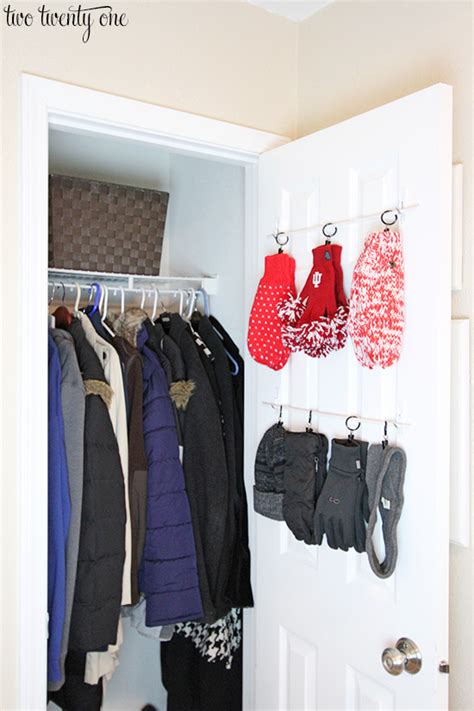 Small Hallway Closet Organization Ideas by Coat Closet Organization