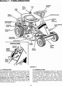 Snapper Rear Engine Rider Parts Diagram