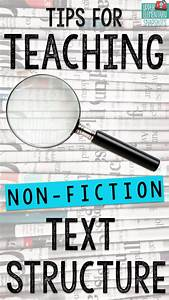 Tips For Teaching Text Structure With Non
