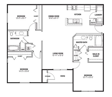 ranch floor plans with large kitchen big great room house plans home deco plans 9192
