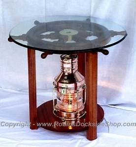 Robin39s dockside shop copper anchor lantern for Table lamp electrical kits