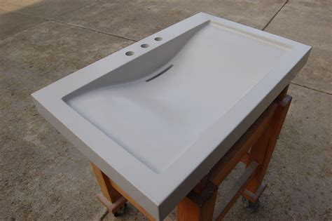 how to make a cement sink handmade balboa concrete sink by agitated aggregate