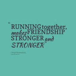 Running with Friends Quotes
