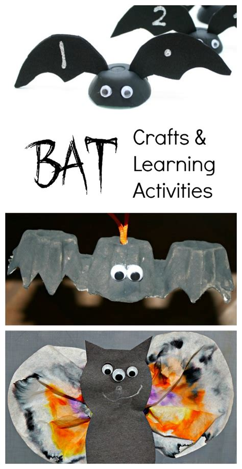 bat books for fantastic amp learning 843   12 Bat Crafts and Learning Activities
