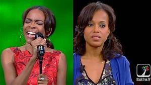 """Scandal"" star, Kerry Washington opens up during Girl Talk ..."