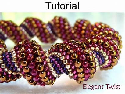 Beading Peyote Stitch Bead Bracelet Pattern Tutorial