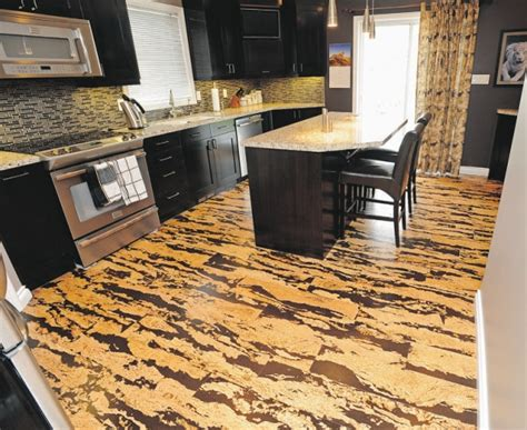 kitchen cork flooring cork flooring pros and cons homesfeed 3416