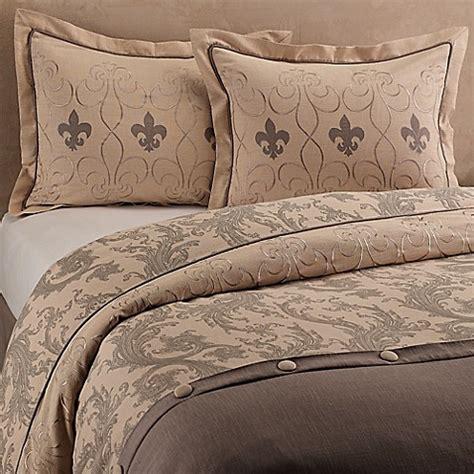 fleur de lis duvet cover set bed bath