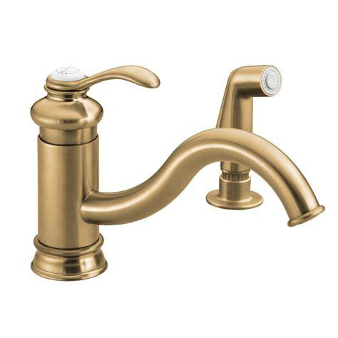 standard kitchen faucet leaking kohler fairfax single handle standard kitchen faucet with