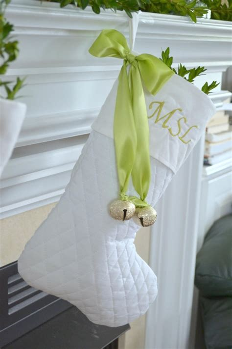 white christmas stocking favethingcom