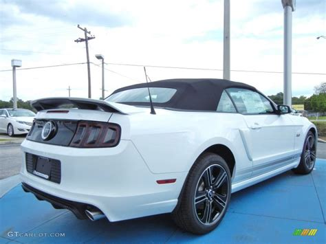 white ford mustang convertible 2014 oxford white ford mustang gt cs california special