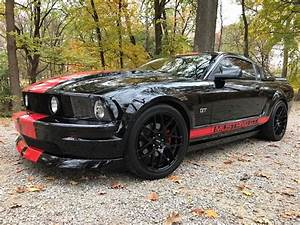 5th generation black 2008 Ford Mustang GT low miles For Sale - MustangCarPlace
