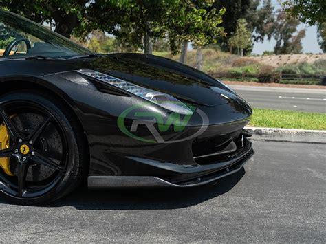 More ferrari 458 news & reviews. Ferrari 458 Carbon Fiber Front Lip Spoiler
