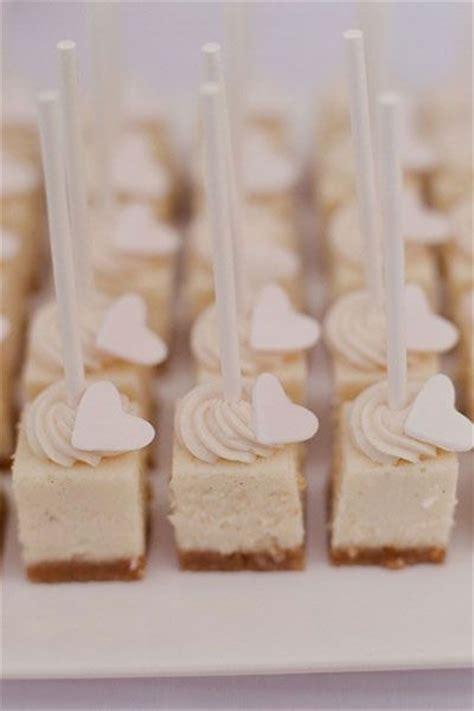 delicious mini cheesecake ideas   wedding
