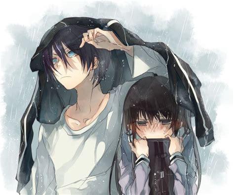 Stay With Me, Yato. [noragami Yatori Fanfic] [yato And