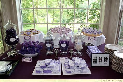 bridal shower ideas bridal shower dessert buffet the hudson cakery