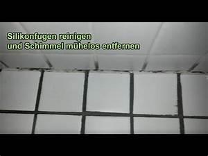 Fugenschimmel Im Bad Entfernen : silikonfugen reinigen schimmel von silikonfuge entfernen ~ Lizthompson.info Haus und Dekorationen